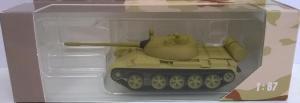 Модель танка Т-55 (цвет песочный RAL 1024).Пр-во AMA.Арт.474.Масштаб 1:87 (НО).