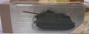 Модель самоходной установки СУ-85М.Пр-во DeBerg.Масштаб 1:87 (НО).