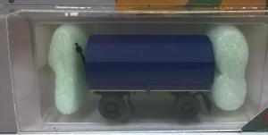 Модель 2-х осного прицепа с тентом.Пр-во MINITANKS.Масштаб 1:87 (НО).