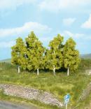 Набор деревьев березы 6шт.Пр-во HEKI.Арт.1998.Масштабы-все.