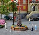 Модель фонтана возле ратуши.Пр-во KIBRI.Арт.38910.Масштаб НО (1:87).