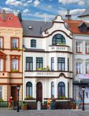 Модель жилого дома Bürgerhaus mit Atelier in Bonn.Пр-во KIBRI.Арт.39103.Масштаб НО (1:87).