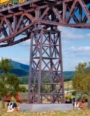 Модель стальной средней универсальной опоры ж.д. моста.Пр-во KIBRI.Арт.39753.Масштаб НО (1:87).