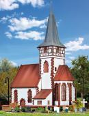 Модель деревенского костела в Ditzingen.Пр-во KIBRI.Арт.39772.Масштаб НО (1:87).