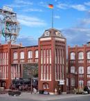 Модель административного здания шахты