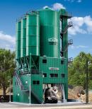 Модель цементного завода компании SchwarzBau.Пр-во KIBRI.Арт.39930.Масштаб НО (1:87).