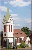 Модель городской церкви.Пр-во Аухаген.Арт.11370.Масштаб НО (1:87).