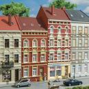 Модель городских домов улицы Schmidtstraße 27/29.Пр-во Аухаген.Арт.11417.Масштаб НО (1:87).