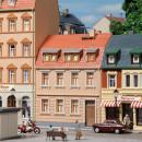 Модель жилого дома Wohnhaus Nr.2.Пр-во Аухаген.Арт.12251.Масштаб НО-ТТ (1:87-1:120).