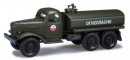 Модель ЗИЛ 157 топливозаправщик,милитари СА.Пр-во MINITANKS (HERPA).Арт.744034.Масштаб 1:87 (HO).
