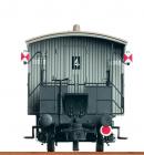 Комплект перил пассажирского вагона с концевыми габаритами.BRAWA Арт.2230.Масштаб НО(1:87).
