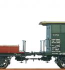 Жесткое соединение вагонов.BRAWA Арт.2250.Масштаб НО(1:87).