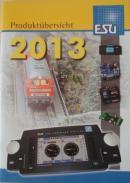 Каталог продукции на 2013год фирмы ESU.Масштабы различные.