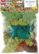 Комплект исландский мох вес 70грамм.Пр-во BUSCH.Арт.7105.Масштаб НО (1:87).