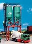 Модель двойных силосных башен для строительства.Пр-во KIBRI.Арт.39931.Масштаб НО (1:87).