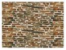 Имитация кладки каменной с известью (картон).Пр-во Auhagen.Арт.50515.Масштаб НО-ТТ (1:87-1:120).