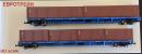 Сет 2-х вагонов платформ с 6-ю контейнерами,принадлежности РЖД.Пр-во ЕвроТрейн.Арт.1011.Масштаб НО (1:87).