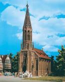 Модель здания городской церкви Stuttgart-Berg.Пр-во Vollmer.Арт.43739.Масштаб НО (1:87).