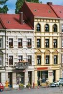 Модель городских домов улицы Schmidtstraße 17/19.Пр-во Аухаген.Арт.11393.Масштаб НО (1:87).