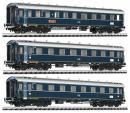 """Модель сета из 3-х вагонов,пассажирского состава """"Dompfeil"""".Пр-во LILIPUT.Арт.330501.Масштаб НО(1*87)."""