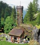 Модель башни обозрения средневекового замка.Пр-во FALLER.Арт.130291.Масштаб НО (1:87).