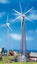 Модель 2-х ветряков компании Nordex,один из которых вращается.Пр-во FALLER.Арт.130381.Масштаб НО (1:87).