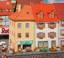 Модель 2-х небольших городских домов.Пр-во FALLER.Арт.130496.Масштаб НО (1:87).
