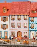 Модель небольшого городского жилого дома.Пр-во FALLER.Арт.130497.Масштаб НО (1:87).