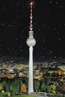 Модель телевизионной вышки Берлина.Пр-во FALLER.Арт.130966.Масштаб НО (1:87).