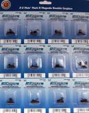 Сцепки кулачковые (24шт) под винт (длина короткая).Пр-ва фирмы BACHMANN USA.Арт.78029.