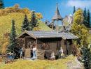 Модель деревянной горной каплички.Пр-во FALLER.Арт.131302.Масштаб НО (1:87).
