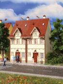Модель здания сдвоенного жилого дома на Рэйне.Пр-во Vollmer.Арт.43843.Масштаб НО (1:87).
