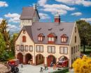 Модель большой старинной пожарной части Nürnberger Feuerwache West.Пр-во FALLER.Арт.130163.Масштаб НО (1:87).