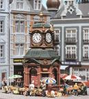 Модель-набор торговый киоск с часами.Пр-во FALLER.Арт.180583.Масштаб НО (1:87).
