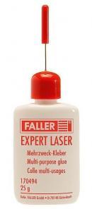 Набор клей Expert Lasercut,обьем.25гр.Пр-во FALLER.Арт.170494.Масштаб НО (1:87).