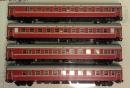Сет 4-х пассажирских вагонов ЦМВ,состава