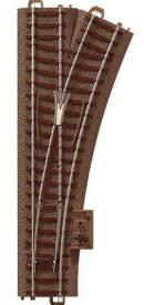 Модель прямой стрелки правой длиной 188.3мм.Пр-во ТRIX.Арт.62612.Масштаб НО (1:87).