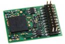 Модель цифрового декодера типа PluX 22.Пр-ва Uhlenbrock.Арт.74560.Масштаб НО (1:87).
