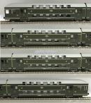 Для предзаказов!!!4-х вагонный сет 2-х этажных вагонов PKP.Пр-во RIVAROSSI.Арт.HRS4288.Масштаб НО (1:87).