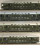 4-х вагонный сет 2-х этажных вагонов PKP.Пр-во RIVAROSSI.Арт.HRS4289.Масштаб НО (1:87).