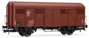 Модель 2-х осного крытого вагона.Пр-во RIVAROSSI.Арт.HRS6433.Масштаб НО (1:87).