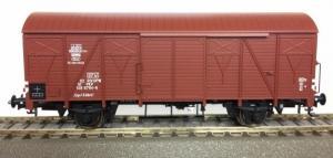 Модель 2-х осного крытого вагона.Пр-во RIVAROSSI.Арт.HRS6436.Масштаб НО (1:87).