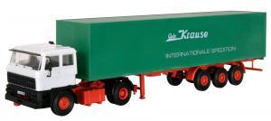 Модель 2-х осного седельного тягача DAF с 3-х осным полуприцепом.Пр-во KIBRI.Арт.14646.Масштаб НО (1:87).