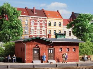 Модель ж.д. вокзальных туалетов.Пр-во Аухаген.Арт.11384.Масштаб НО (1:87).
