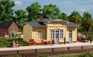 Модель ж.д. вокзала Norgens.Пр-во Аухаген.Арт.11449.Масштаб НО (1:87).