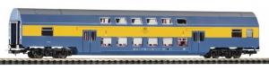Модель 2-х этажного пассажирского вагона 2-го класса.Пр-во PIKO.Арт.97044.Масштаб НО (1:87).