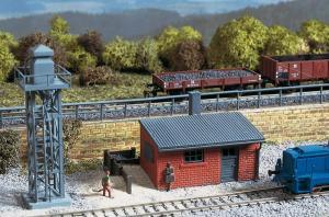 Модель аксессуаров для заправки локомотивов песком.Пр-во Auhagen.Арт.13288.Масштаб ТТ (1:120).