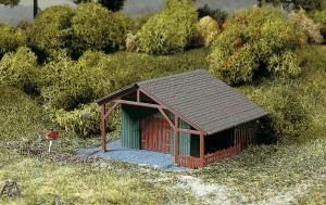 Модель деревянной лесной альтанки.Пр-во Auhagen.Арт.13292.Масштаб ТТ (1:120).