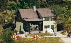 Модель старой водяной мельницы.Пр-во Auhagen.Арт.13307.Масштаб ТТ (1:120).