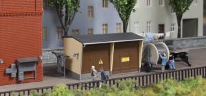 Модель трансформаторов с аксессуарами.Пр-во Auhagen.Арт.13338.Масштаб ТТ (1:120).